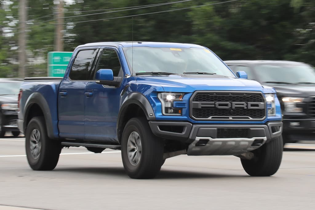 spy pics ford 39 s 2018 f 150 raptor ute undisguised. Black Bedroom Furniture Sets. Home Design Ideas