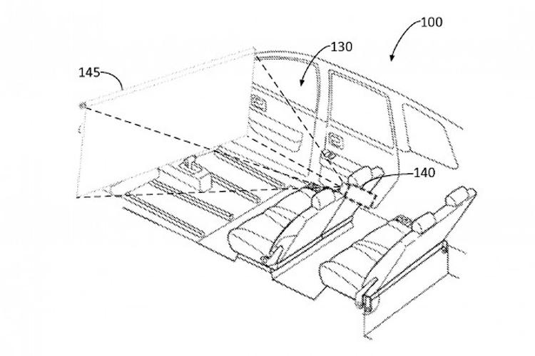 Ford Patents Revolutionary In Car Cinema