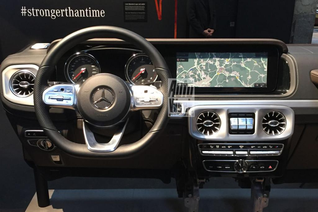 leaked 2018 mercedes benz g class interior. Black Bedroom Furniture Sets. Home Design Ideas