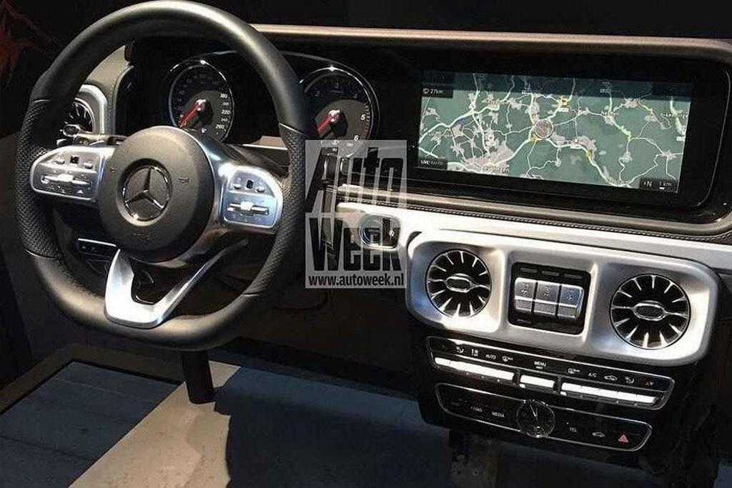 Published Months Ahead Of Its Official Launch At The Detroit Motor Show Pics Reveal That New G Cl Will Come With Same Steering Wheel You