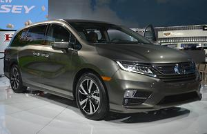 Detroit Motor Show Honda Unwraps 2018 Odyssey