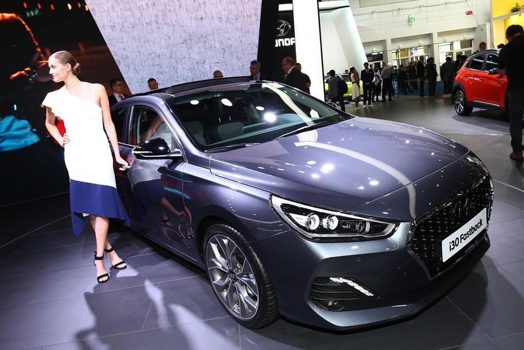Frankfurt Motor Show Hyundai I30 Fastback Motoring Com Au
