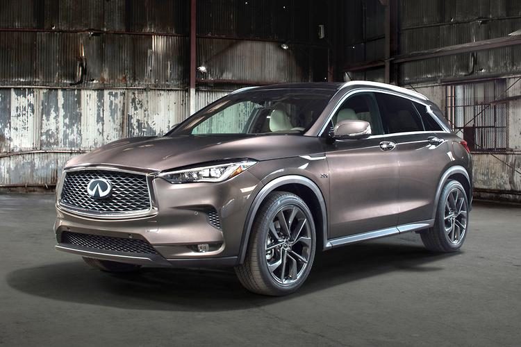 Infiniti QX50 Gives Us a Wink