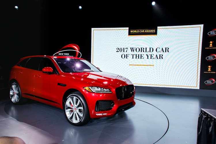 Superior Jaguar F PACE Is 2017 World Car Of The Year