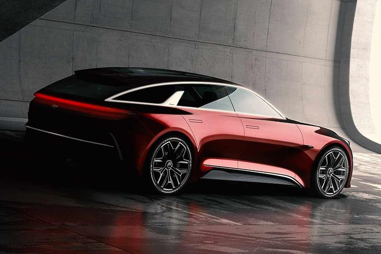 Planting the Cee'd: new Kia shooting brake concept previews design future