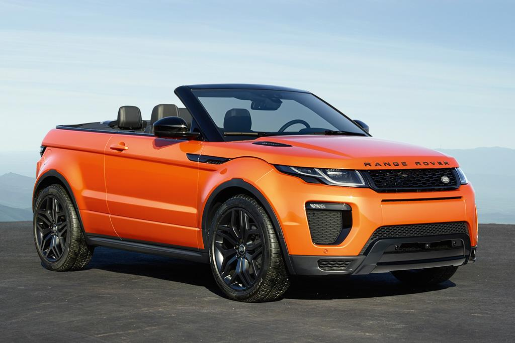 Range Rover Evoque Convertible: Full details - motoring com au