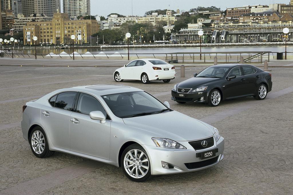 Lexus Recalls Is Models For Takata Airbags Motoring Com Au