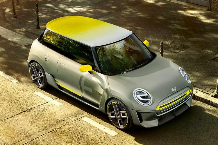 Stylish Concept Previews Future Electric MINI Model
