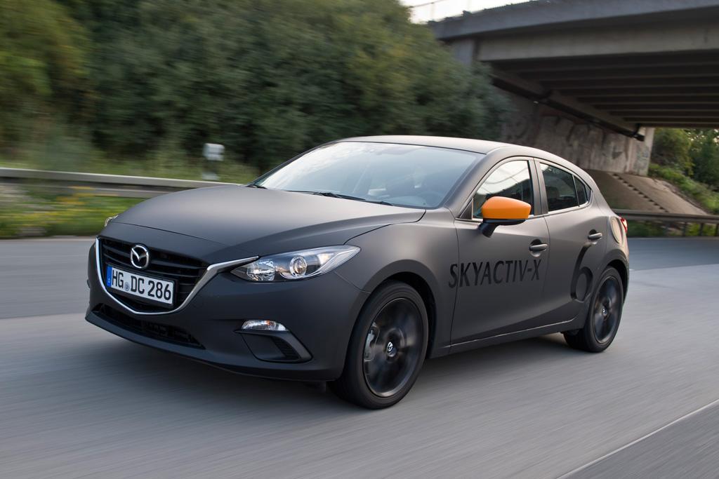 Mazda3 Skyactiv X Prototype 2018 Review Motoring Com Au