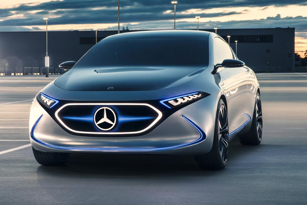 Mercedes benz concept eqa revealed for Mercedes benz latest technology