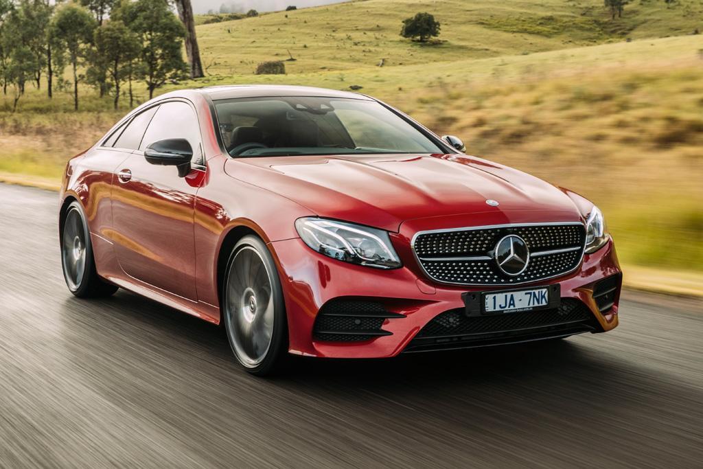 Mercedes e class coupe review
