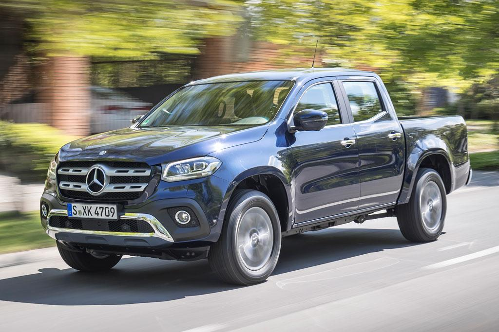 Five Safety Stars For Mercedes X Class Motoring Com Au