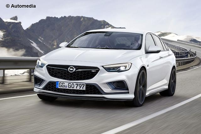 Opel Insignia Opc Previews Hot 2018 Commodore