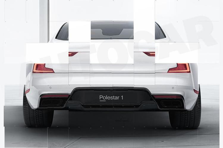 The Polestar 1 is a 600-horsepower hybrid sports coupe from Volvo