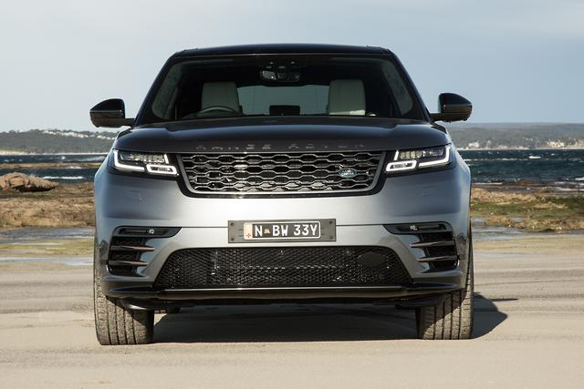 range rover velar arrives. Black Bedroom Furniture Sets. Home Design Ideas