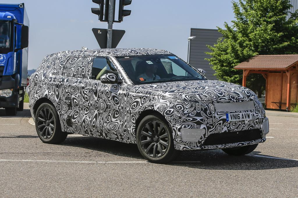 SPY PICS: Range Rover Sport Coupe targets BMW X6 - motoring
