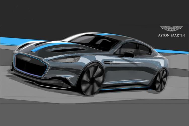 Aston Martin plans all hybrid fleet by 2025