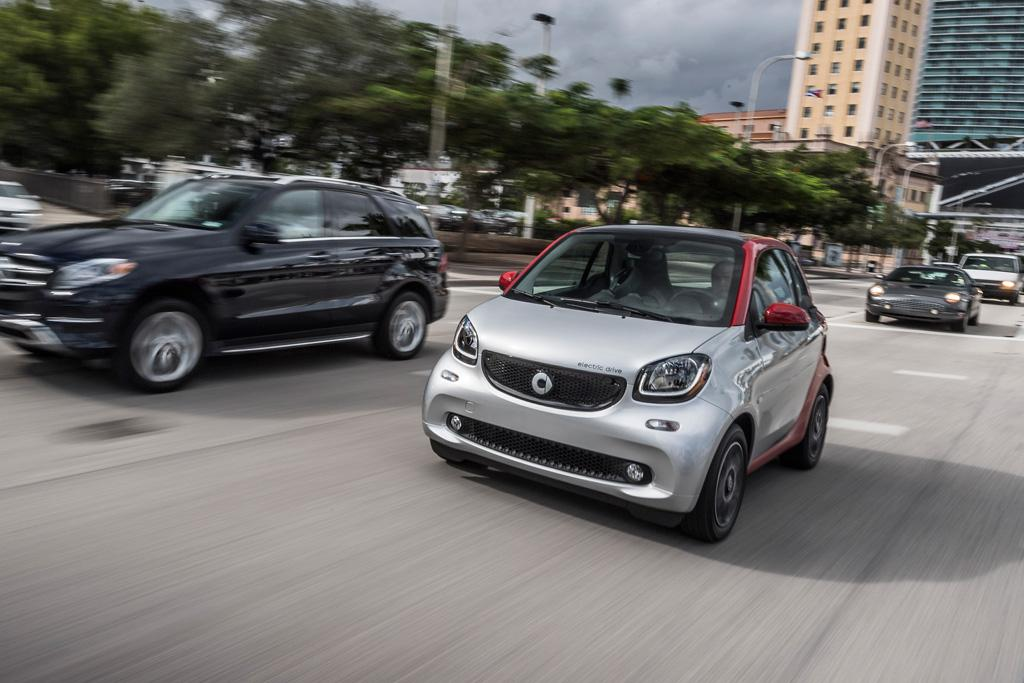 Smart Electric Drive 2017 Review Motoring