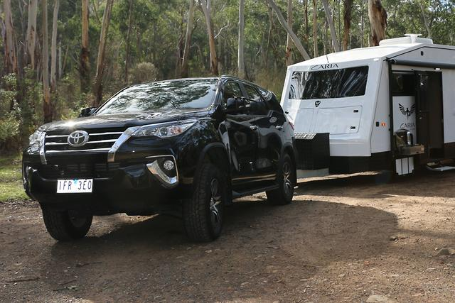Toyota Fortuner 2016 Tow Test