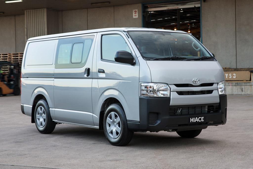 b215583592 More economical HiAce - motoring.com.au