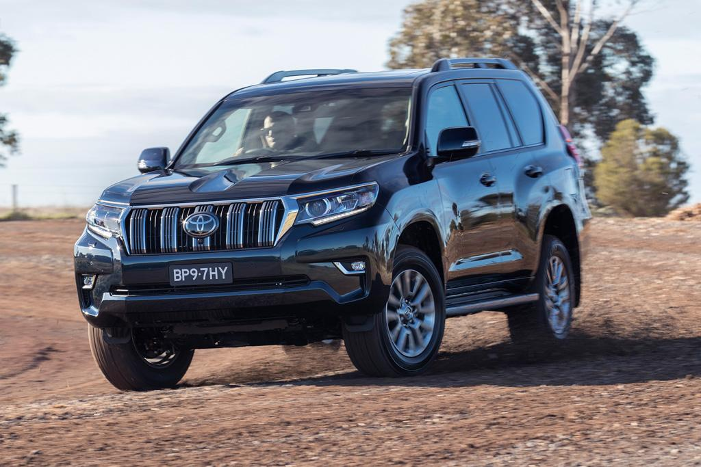 Five best things about Toyota's 2018 Prado - motoring com au