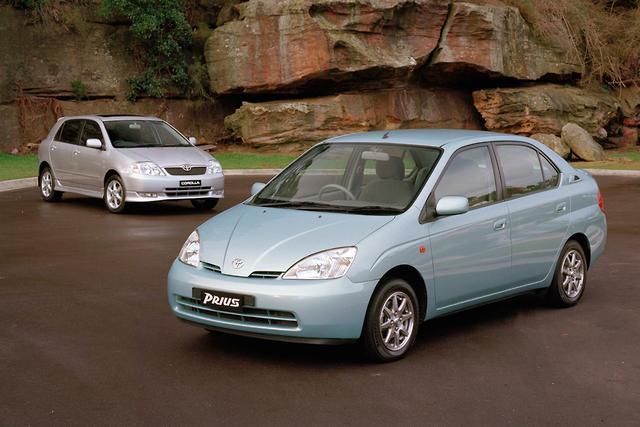 Toyota Prius Motoringcomau - 2003 prius
