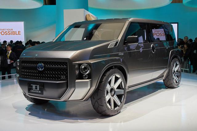 tokyo motor show toyota says tj cruiser is no fj replacement. Black Bedroom Furniture Sets. Home Design Ideas