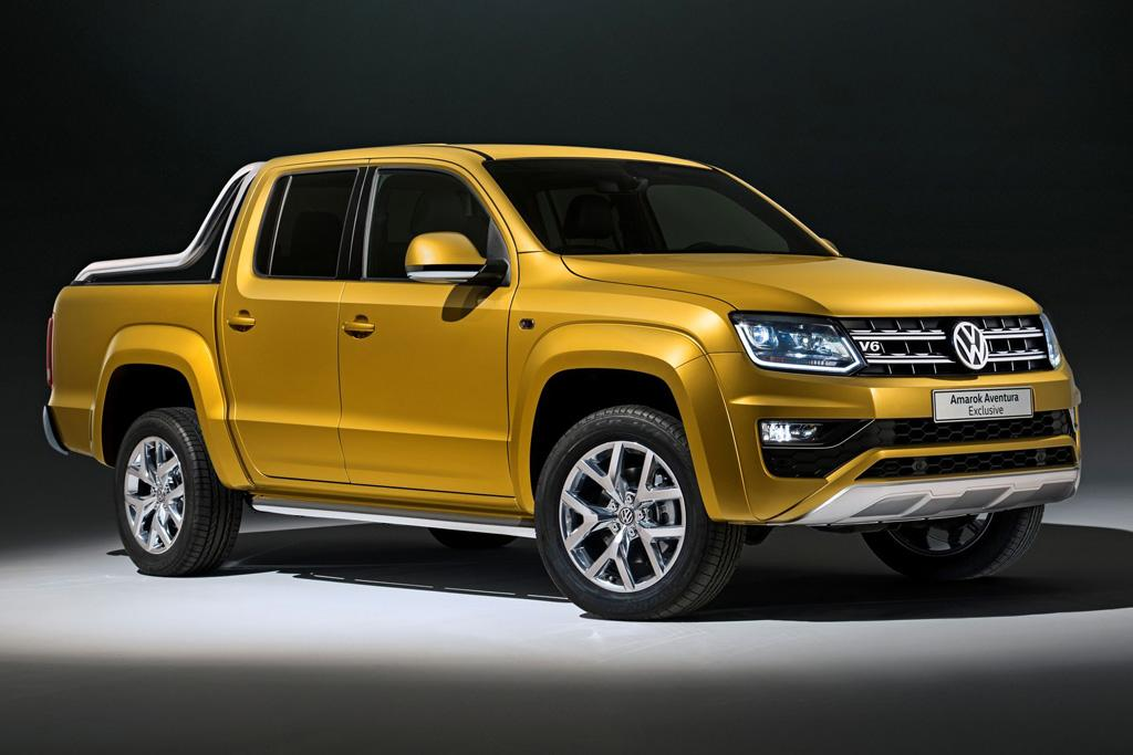 frankfurt motor show more power for vw amarok v6. Black Bedroom Furniture Sets. Home Design Ideas