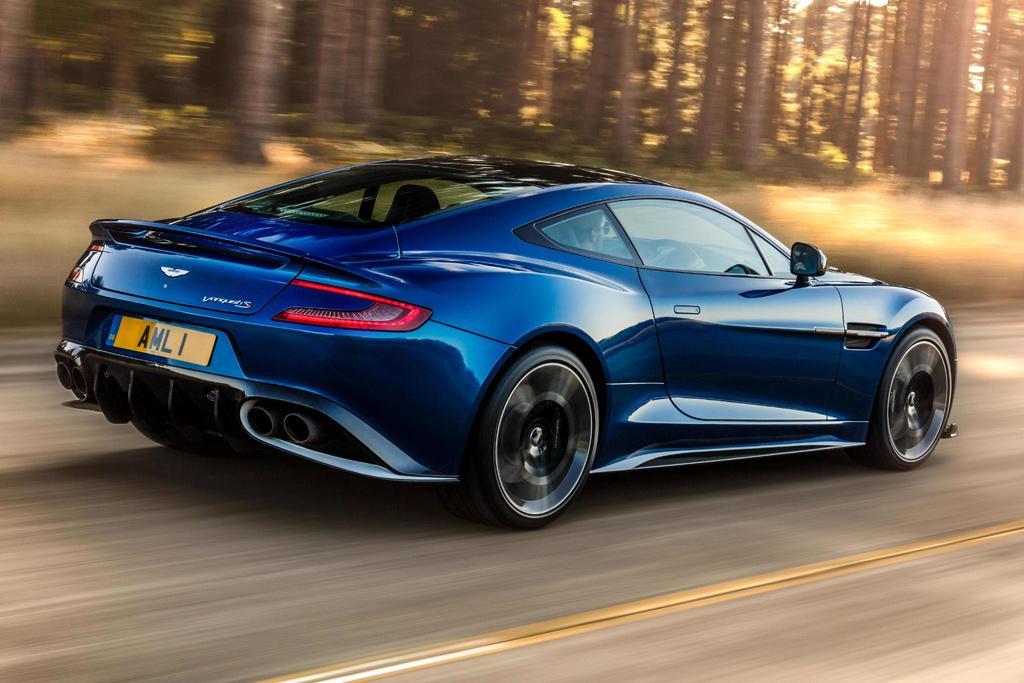 Aston Martin Reveals Menacing Vanquish S Motoringcomau - Aston martin vanquish s