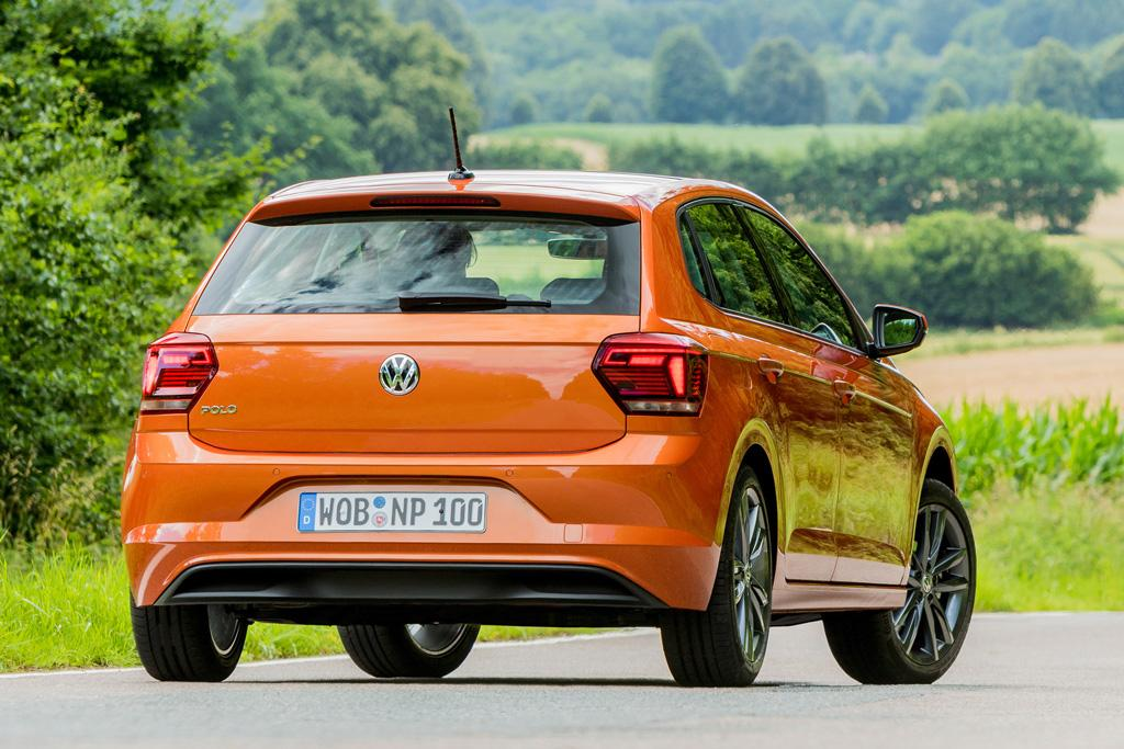 2018 volkswagen polo. unique volkswagen though this is its smallest application the polo still uses all of  stuff offered by mqbu0027s mechanical and electronic systems even debuts as an  with 2018 volkswagen polo