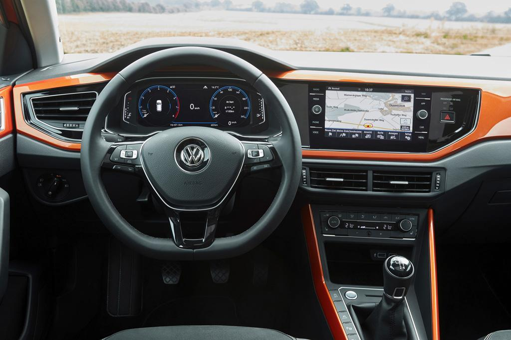 2018 volkswagen polo gti. plain 2018 on the same level as dash but over in centre is an infotainment  screen that can be either 65 or 80 inches with three levels of sophistication  with 2018 volkswagen polo gti