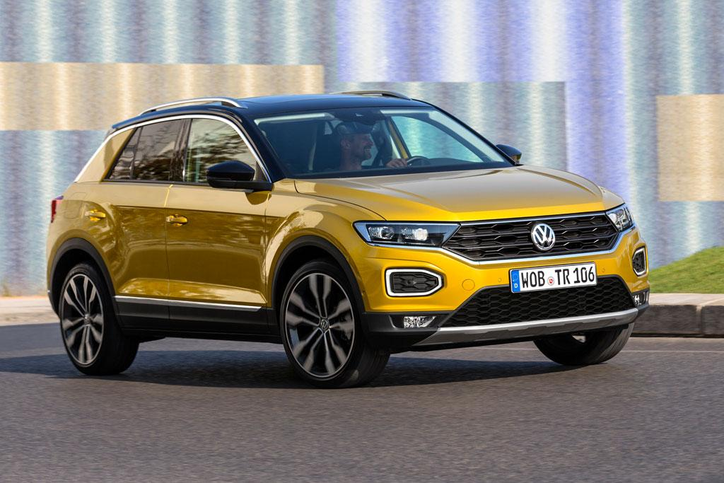 volkswagen t roc suv delayed. Black Bedroom Furniture Sets. Home Design Ideas