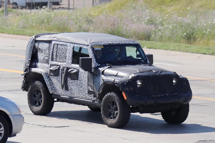 SPY PICS: Jeep Wrangler Fuel Economy To Improve