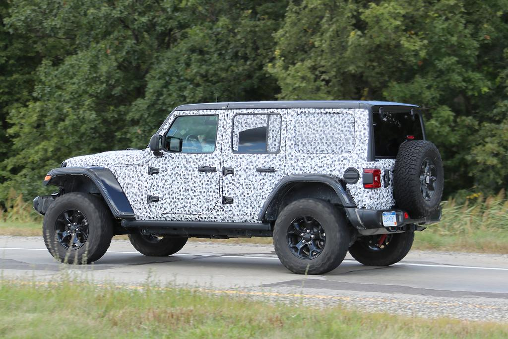 2018 jeep wrangler unlimited sport. interesting unlimited spy photos sent to motoringcomau this week u2013 obtained during official  testing in michigan provide an early preview throughout 2018 jeep wrangler unlimited sport