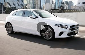 Mercedes-Benz A 200 sedan 2019 Video Review - motoring com au