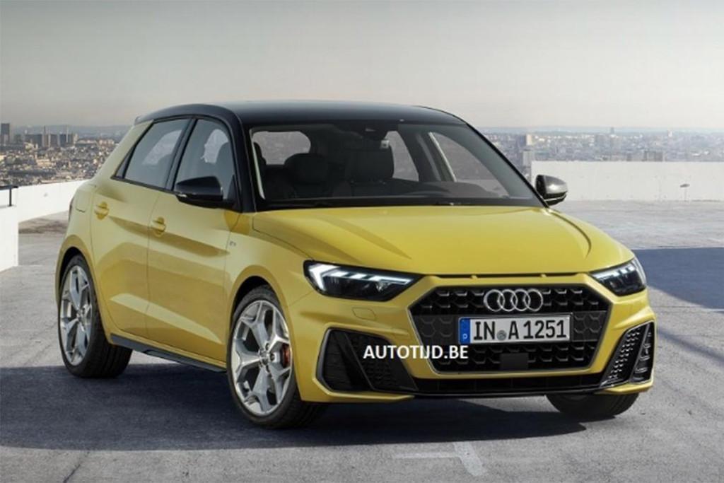 Leaked Audi S Sportier 2019 A1 Sportback Motoring Com Au