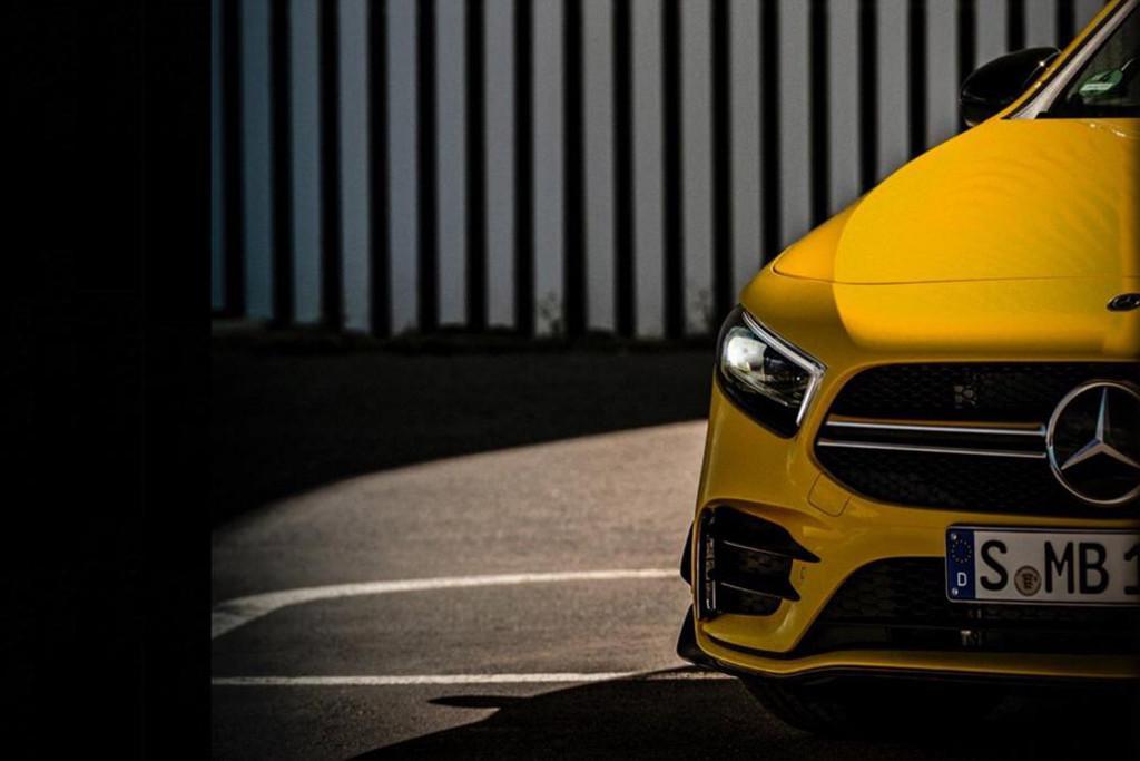 Mercedes Amg Shows More Of A35 Hot Hatch Motoring Com Au