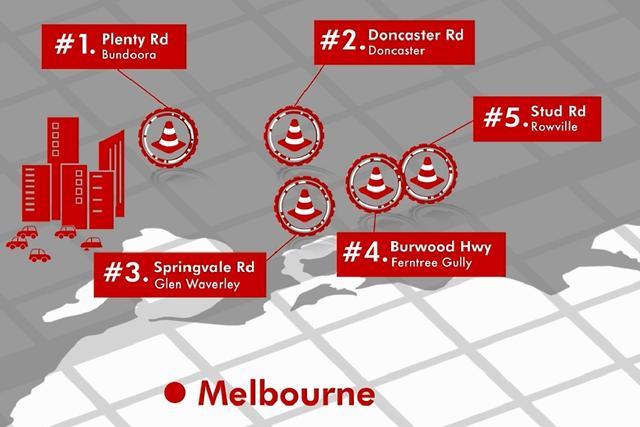 Australia's worst road accident hotspots named for 2018 - motoring