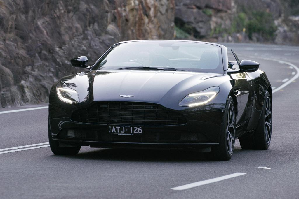 Aston Martin Db11 Volante 2018 Review Motoring Com Au