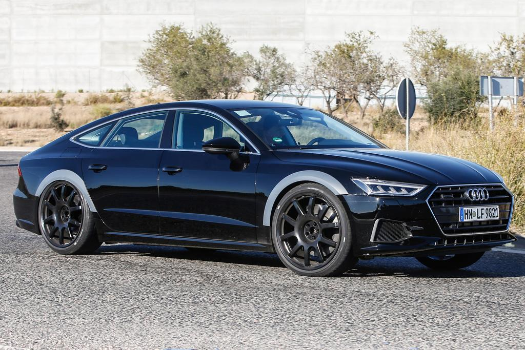 audi pics plus goes powered com s hybrid sportback in producing spy extra a plug au will next rs motoring green gen mule include kilowatts conventionally