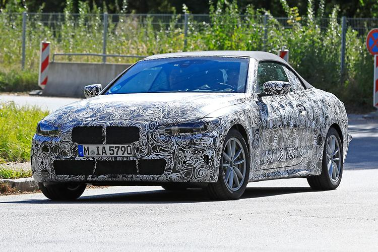 Spy Pics New Bmw 4 Series Exposed Motoring Com Au