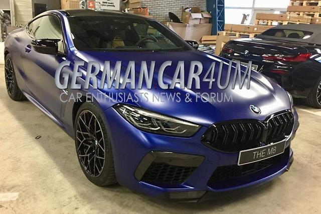 2019 Bmw M8 Competition Exposed Motoringcomau