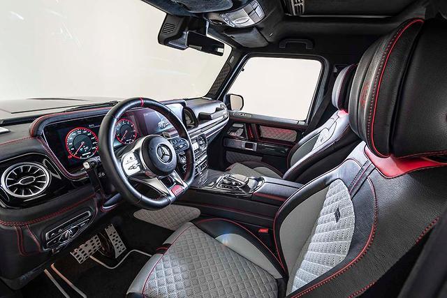 Mercedes-AMG G63 gets angry Brabus upgrade - motoring com au