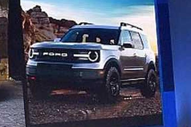 Ford Bronco Leaked Motoring Com Au