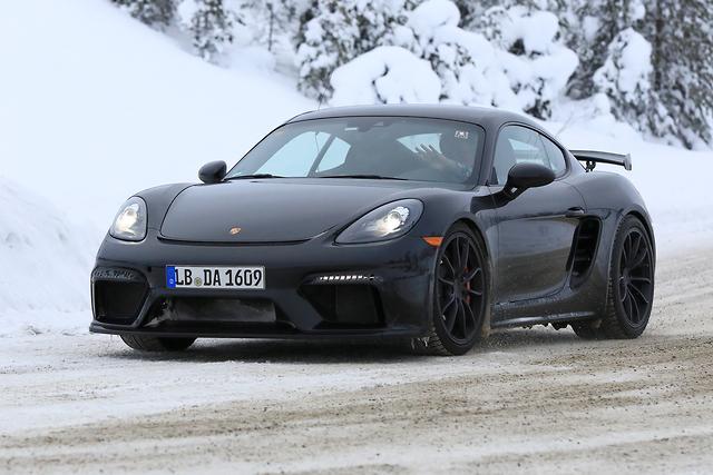SPY PICS: Boxer-six Fix For Porsche Cayman GT4