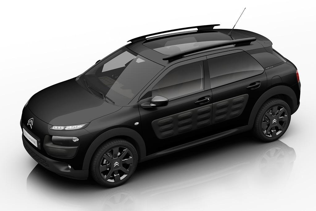 Citroen C4 Cactus Goes Black Motoring