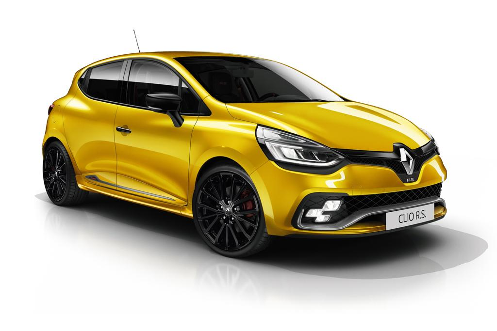 2018 renault clio rs heats up. Black Bedroom Furniture Sets. Home Design Ideas