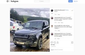 New 2020 Land Rover Defender interior leaked - motoring com au
