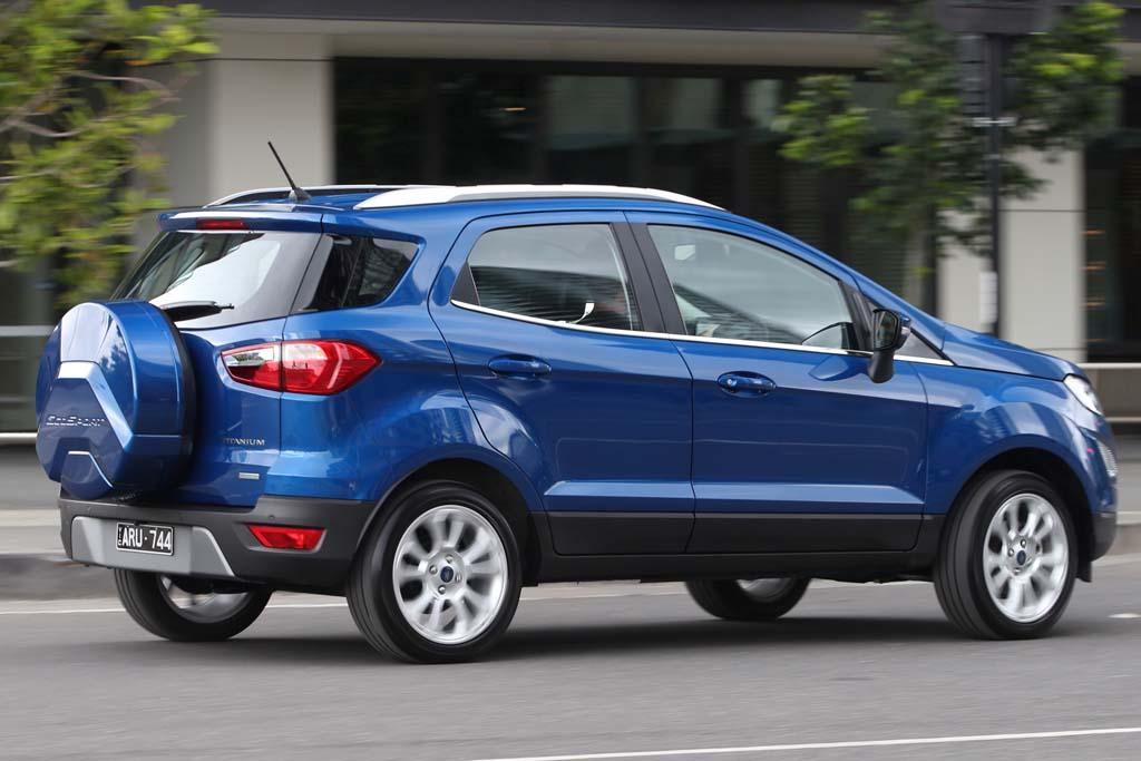 ford ecosport to shed unpopular rear mounted spare. Black Bedroom Furniture Sets. Home Design Ideas