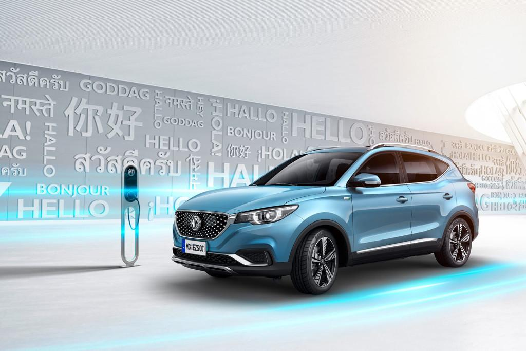 Mg Ezs Is Chinese Brand S First Pure Electric Car
